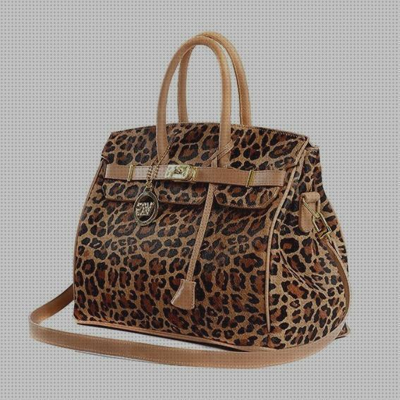 Review de carteras carteras de cuero animal print